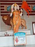 A estátua a maior do mundo de Bharat mata na Índia de Ujjain imagens de stock royalty free