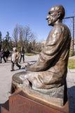 Estátua a Manuel de Falla no bronze fotografia de stock royalty free