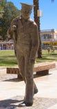 Estátua marinha de bronze Imagem de Stock