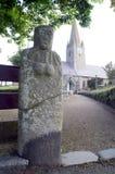 Estátua-menhir de Guernsey La Gran'Mere Du Chimquiere Fotografia de Stock Royalty Free