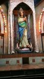 estátua miraculosa da mãe Mary Fotos de Stock Royalty Free
