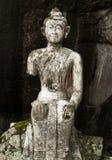 Estátua muito velha de buddha Foto de Stock