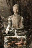 Estátua muito velha de buddha Foto de Stock Royalty Free