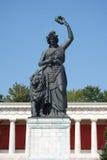 Estátua munich de Baviera Fotografia de Stock Royalty Free