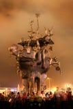 Estátua na expo do mundo de Shanghai Imagens de Stock Royalty Free