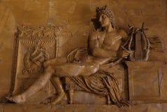 Estátua na galeria Borghese Roma imagens de stock