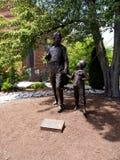 Estátua na montagem Airey ou Mayberry em North Carolina EUA Imagens de Stock
