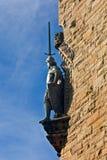 Estátua nacional do monumento de Wallace imagens de stock royalty free