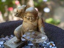 Estátua no  de DaishÅ - no templo, Japão fotos de stock