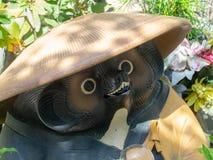 Estátua no  de DaishÅ - no templo, Japão fotografia de stock