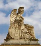 Estátua no Arc de Triomphe du Carrossel Foto de Stock