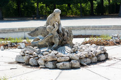 Estátua no jardim de Schönbrunn Foto de Stock Royalty Free
