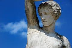 Estátua no parque imagem de stock