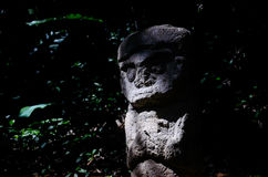 Estátua no parque nacional San Agustin Fotografia de Stock Royalty Free
