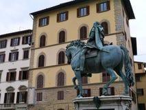 Estátua no signora do della da praça em Florença Imagem de Stock Royalty Free