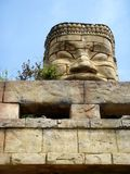 Estátua no templo oriental Fotos de Stock Royalty Free