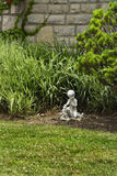 Estátua pequena do jardim Foto de Stock