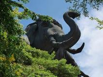 Estátua Picture2 do elefante Foto de Stock