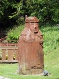 Estátua, porto de Stornoway, ilha de Lewis Foto de Stock