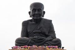 A estátua preta de buddha Fotografia de Stock
