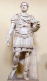 Estátua romana do soldado no museu do Vaticano Imagem de Stock Royalty Free
