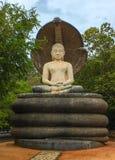 Estátua Sculpure da Buda, Sri Lanka Foto de Stock Royalty Free