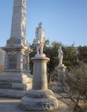 Estátua Stonewall geral Jackson, o memorial de guerra confederado em Dallas, Texas fotografia de stock royalty free