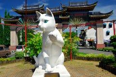 Estátua sul do gato do Conselho Municipal de Kuching Fotografia de Stock Royalty Free