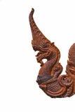 Estátua swrpent Foto de Stock Royalty Free