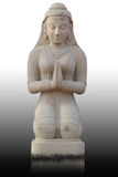 Estátua tailandesa da menina do estilo, Tailândia Imagens de Stock Royalty Free