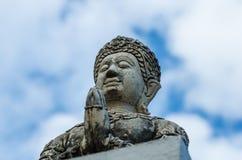 Estátua tailandesa do anjo Imagem de Stock