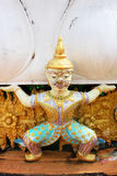Estátua tailandesa do guerreiro do demónio Imagem de Stock Royalty Free