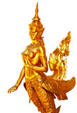 Estátua tailandesa nativa do anjo do estilo Foto de Stock