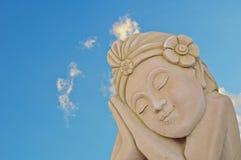 Estátua tradicional tailandesa Foto de Stock Royalty Free