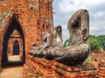Estátua velha de Buddha Fotografia de Stock Royalty Free