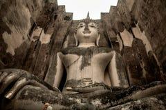 Estátua velha de Buddha fotos de stock
