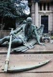 Estátua velha do cemitério Imagem de Stock Royalty Free