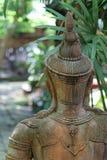 Estátua velha do deva imagem de stock