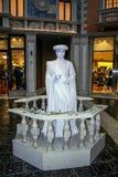 Estátua viva fotografia de stock royalty free