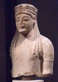 Estátua votiva arcaica Fotos de Stock Royalty Free