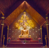 Estátua Wat Sirindhornwararam da Buda Fotos de Stock Royalty Free