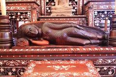 Estátuas antigas de Buddha Imagens de Stock