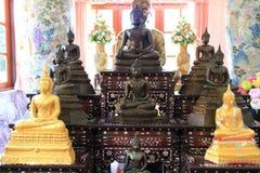 Estátuas antigas de Buddha Fotos de Stock