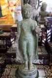 Estátuas antigas de Buddha Fotografia de Stock Royalty Free
