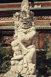 Estátuas antigas do Balinese, hinduism imagem de stock royalty free