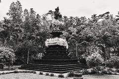 Estátuas antigas do Balinese, hinduism fotografia de stock