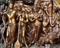 Estátuas budistas fotografia de stock royalty free