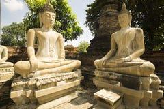 Estátuas budistas da meditação imagens de stock royalty free