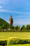 Estátuas da Buda em Wat Thipsukhontharam, província de Kanchanaburi, Fotografia de Stock Royalty Free