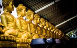 Estátuas da Buda no Budhha grande, Phuket Fotografia de Stock